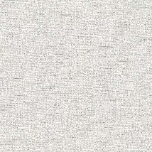 Krém-fehér egyszínű textil szőtt hatású vlies tapéta