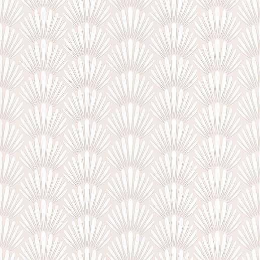 Krém keleties hatású tapéta