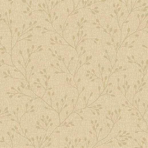 Krém skandináv stílusú faág mintás tapéta