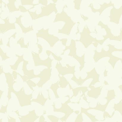 Krém színű pillangó mintás gyerek tapéta