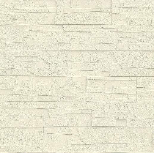 Krém színű tégla hatású tapéta