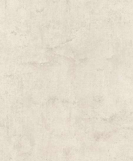 Krémfehér betonhatású vlies dekor tapéta