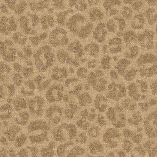 Leopár mintás tapéta barna színben