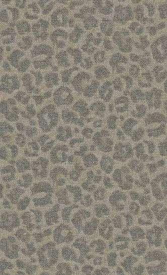 Leopárd mintás modern trópusi hangulatú tapéta bézs színben