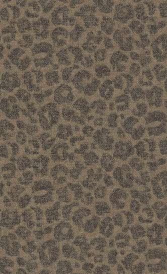 Leopárd mintás tapéta barna színben