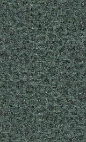 Leopárd mintás tapéta zöld színben