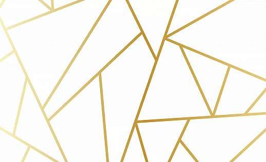 Letisztult modent absztrakt geometrikus mintás fali poszter