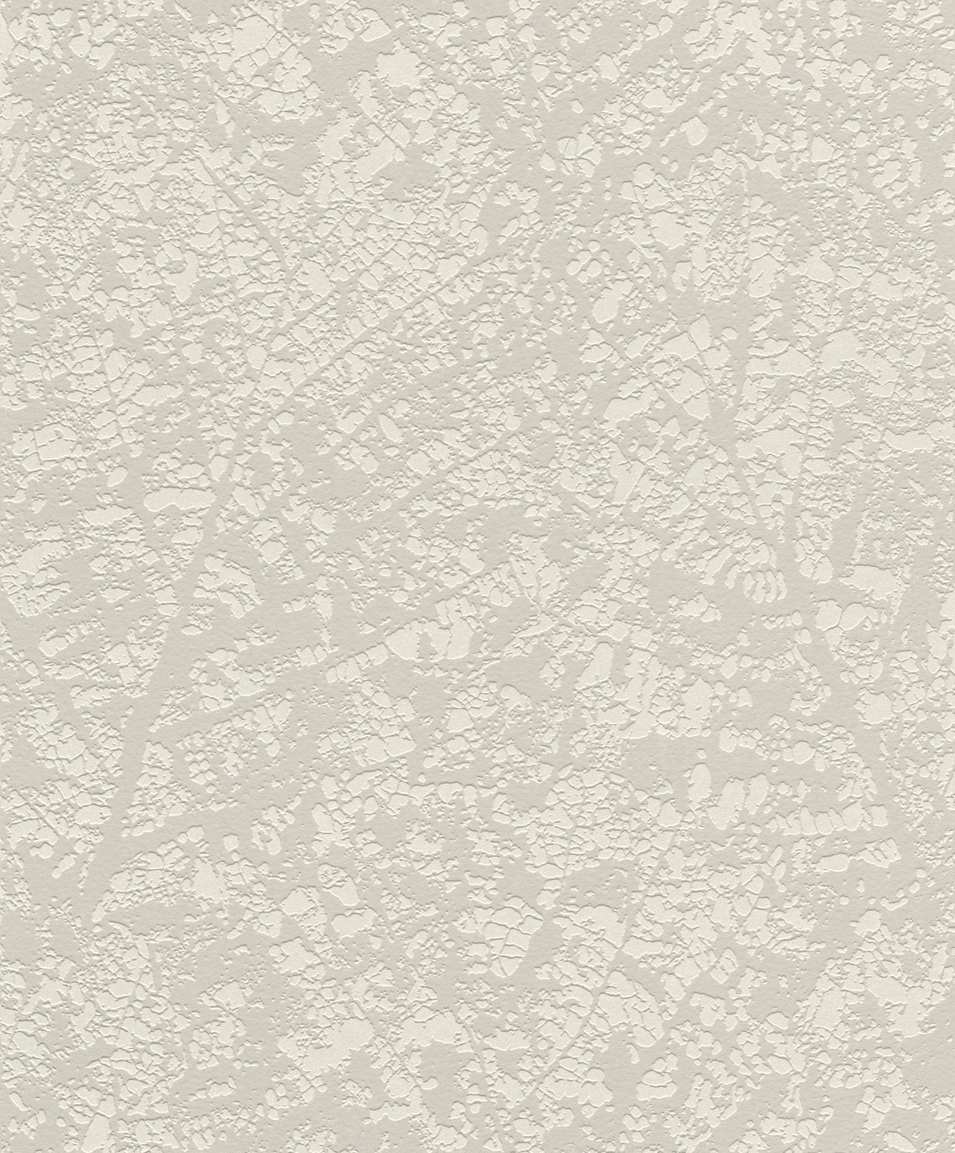 Levélerezet mintás modern tapéta bézs, krém színvilágban