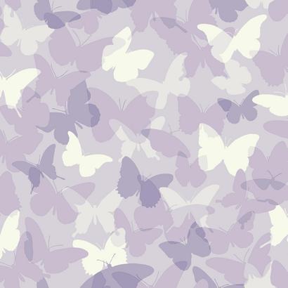 Lila pillangó mintás gyerek tapéta