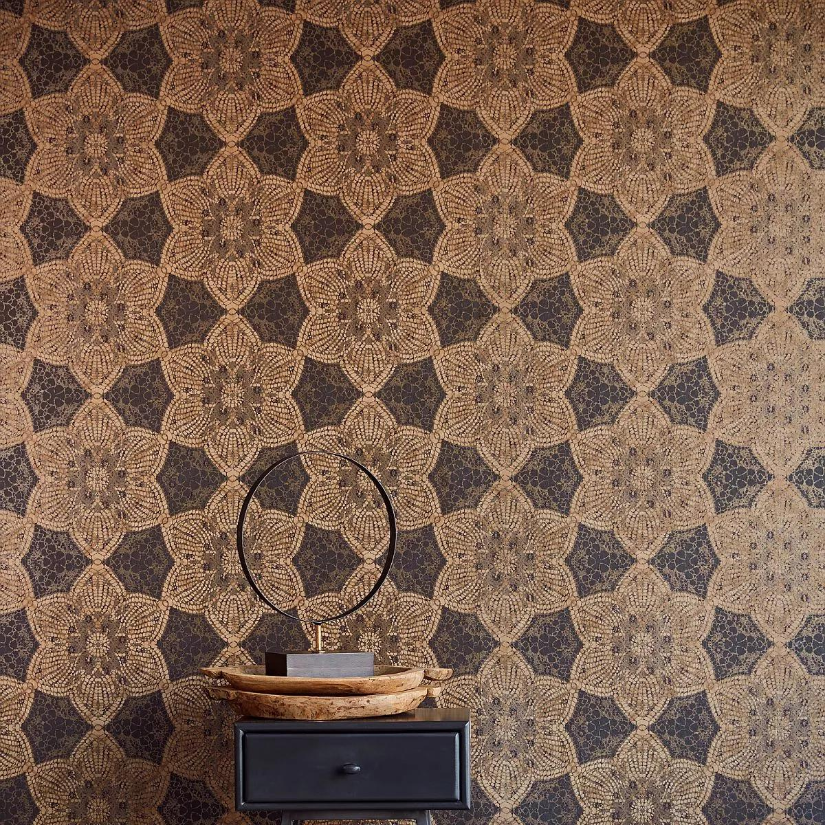 Luxus tapéta afrikai stílusban orientális mintával