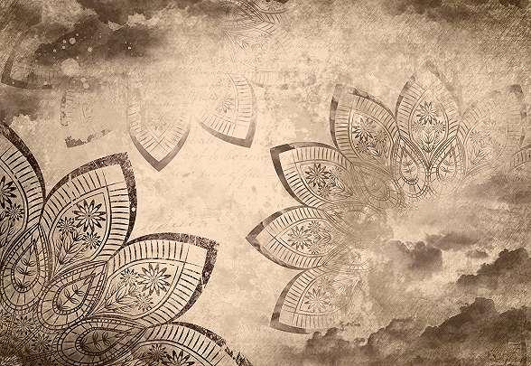 Mandala mintás fali poszter