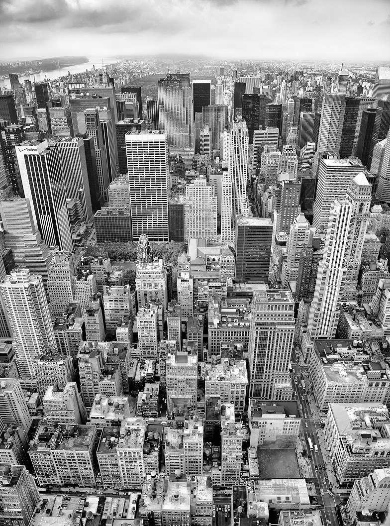 Manhattan felhőkarcolói fali poszter