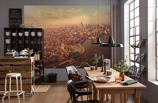 Manhattan látkép fali poszter