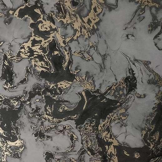 Márvány hatású tapéta, tükröződő felülettel sötétszürke színben