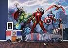 Marvel avenger fali poszter, Hulk, Thor, Vasember és a többi szuperhős egy fali poszteren