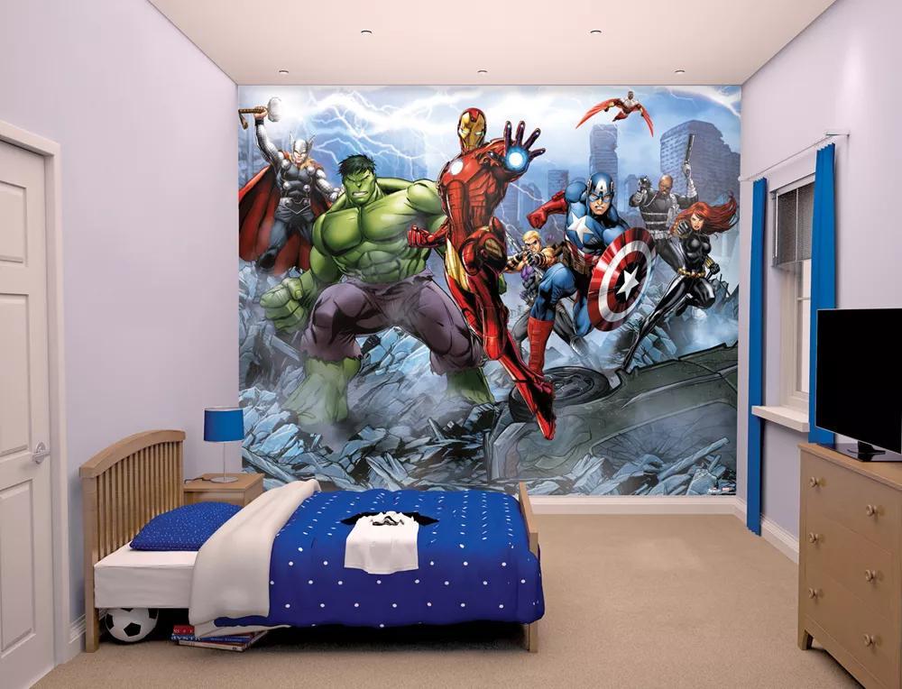 Marvel Avengers óriás fali poszter gyerekszobába