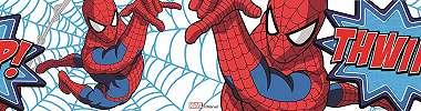 Marvel Pókember mintás bordűr