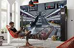 Metro mozgólépcső high-tech fali poszter