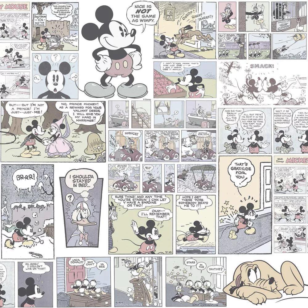Mickey Egér mintás gyerektapéta