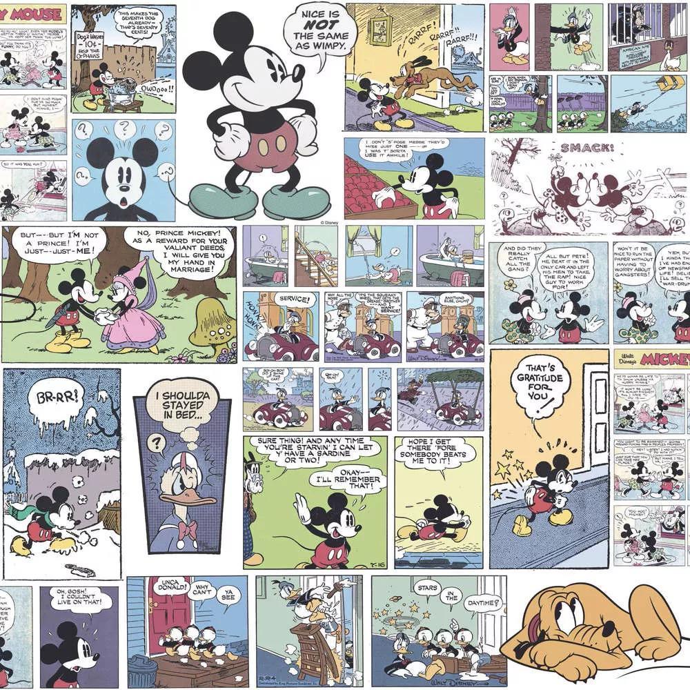 Mickey Mouse színes gyerektapéta