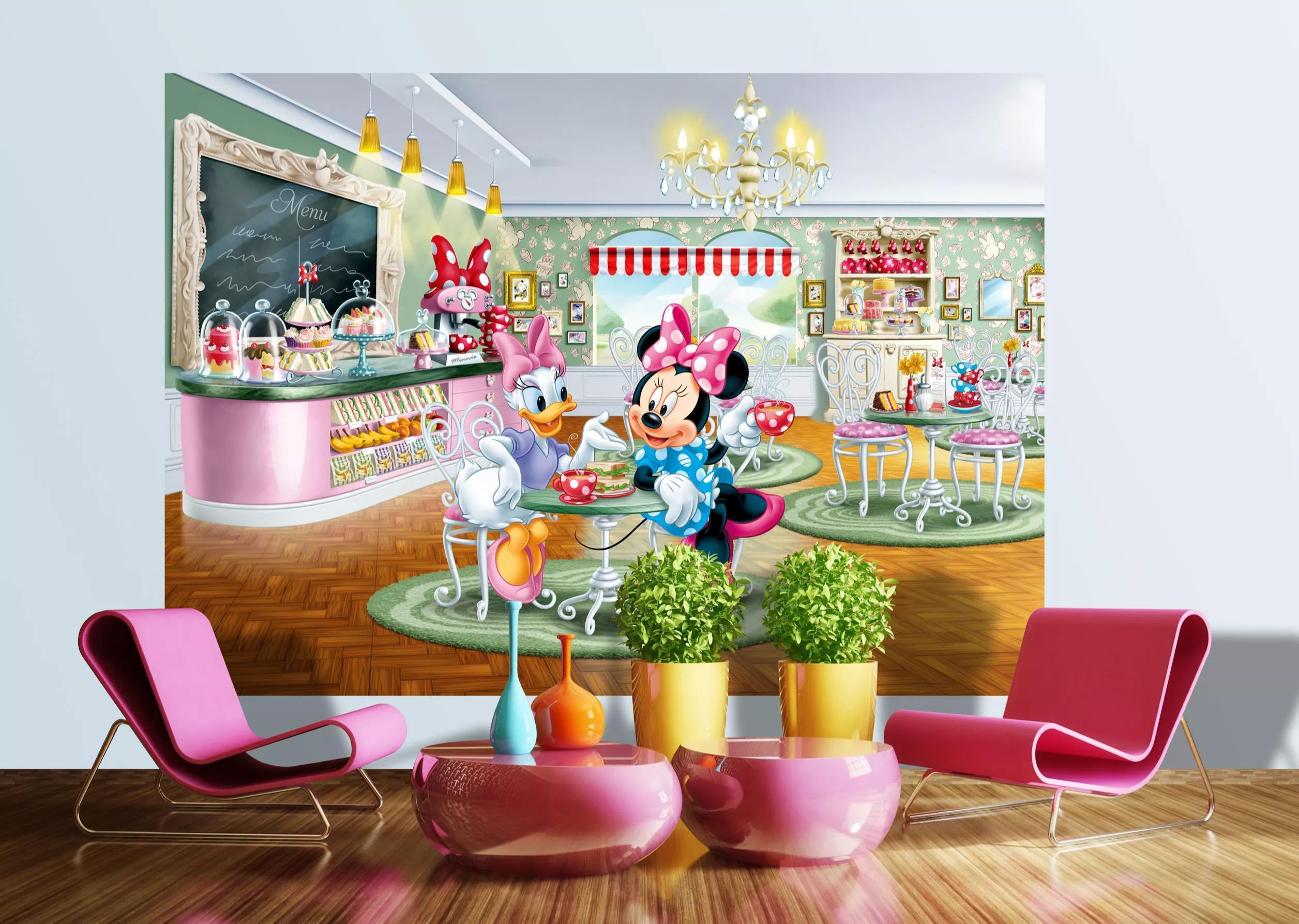 Minnie egér és Daisy kacska fali poszter