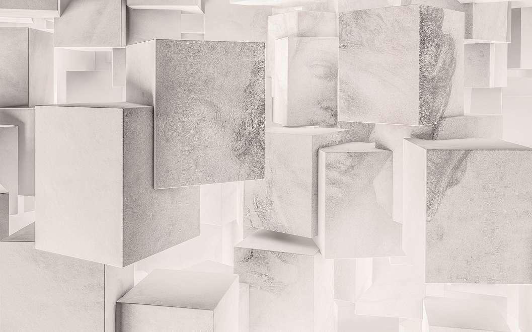 Modern 3D hatású Kleopátra fali poszter