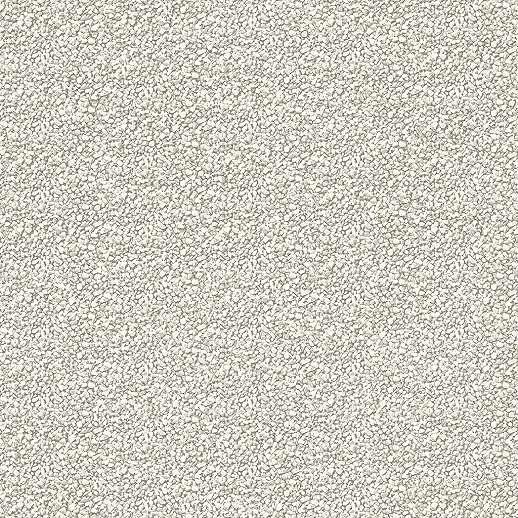 Modern apró krém színű kavics mintás vlies dekor tapéta