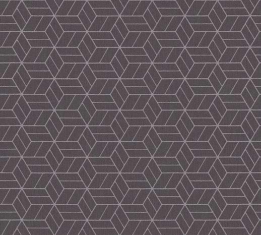 Modern barna geometriai mintás habosított felületű tapéta