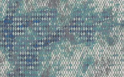 Modern csillogó hatású geometriai mintás poszter
