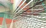 Modern geometriai mintás fali poszter