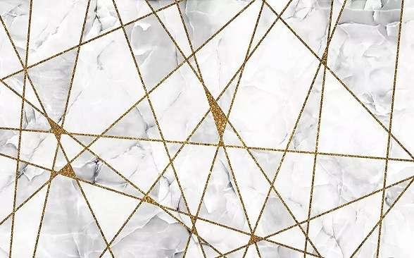 Modern geometrikus mintás óriás fali poszter