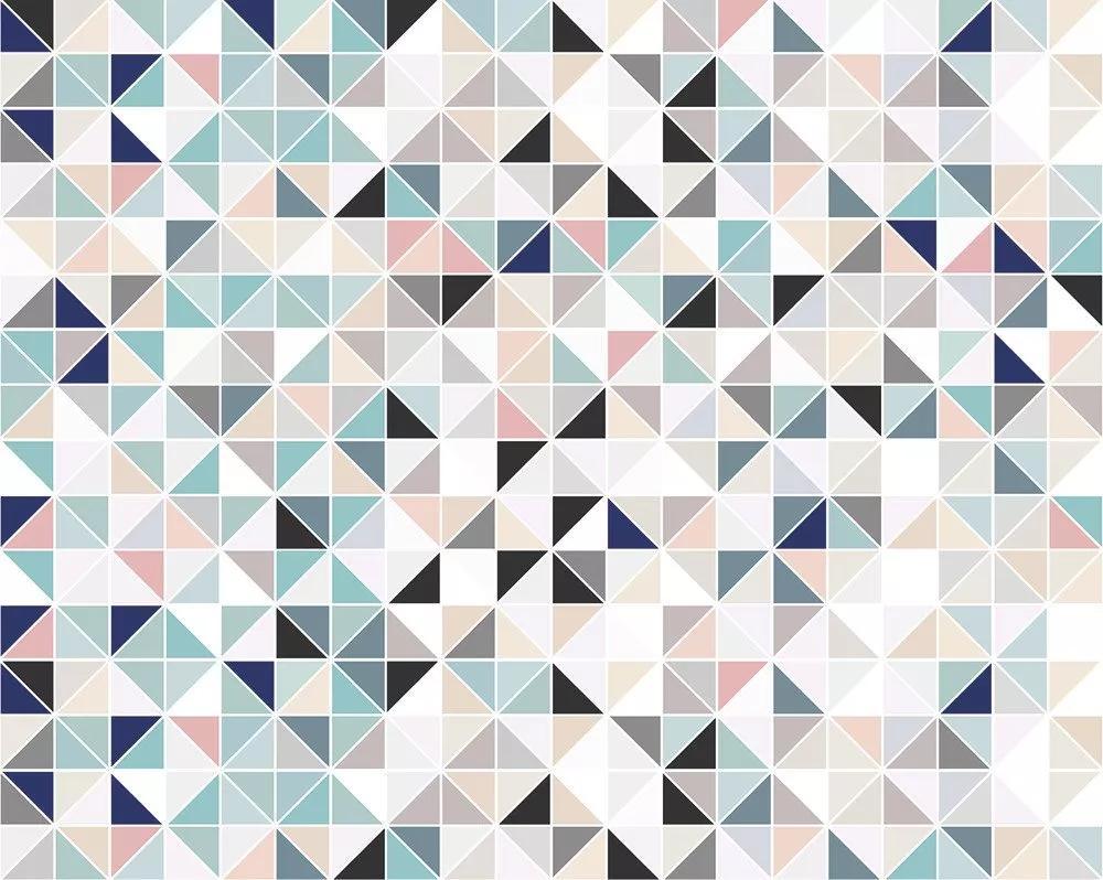 Modern geometrikus mintás vlies fali poszter