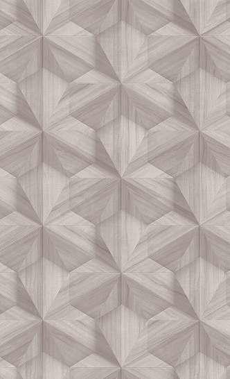 Modern geomtriai mintás tapéta világosbarna színben