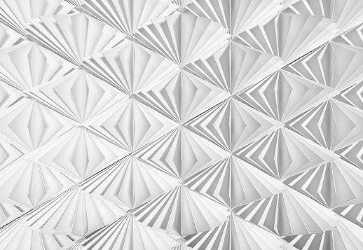 Modern hajtogatott papír hatású fali poszter