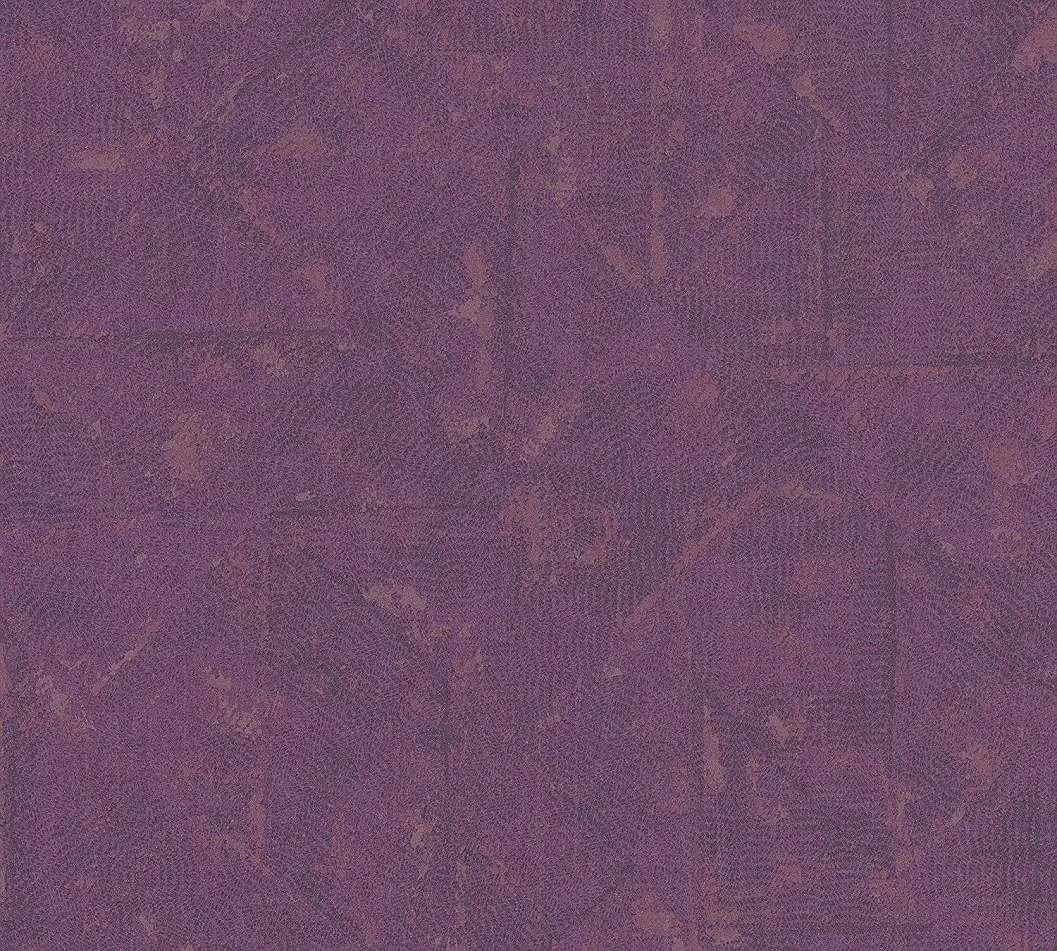 Modern struktúrált felületű tapéta lila színben