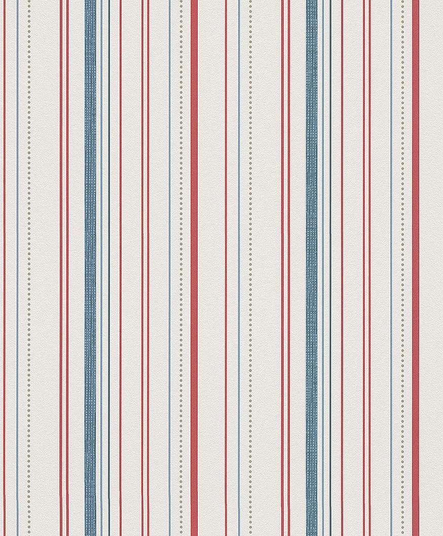 Modern színes csíkos mintás tapéta