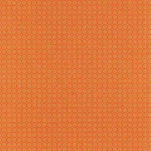 Narancssárga geometrikus mintás vlies retro tapéta