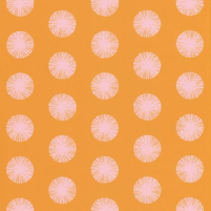 Narancssárga pöttyös tapéta
