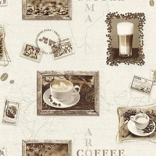 Natur kávé desginos tapéta