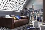 New York-i felhőkarcolók fali poszter