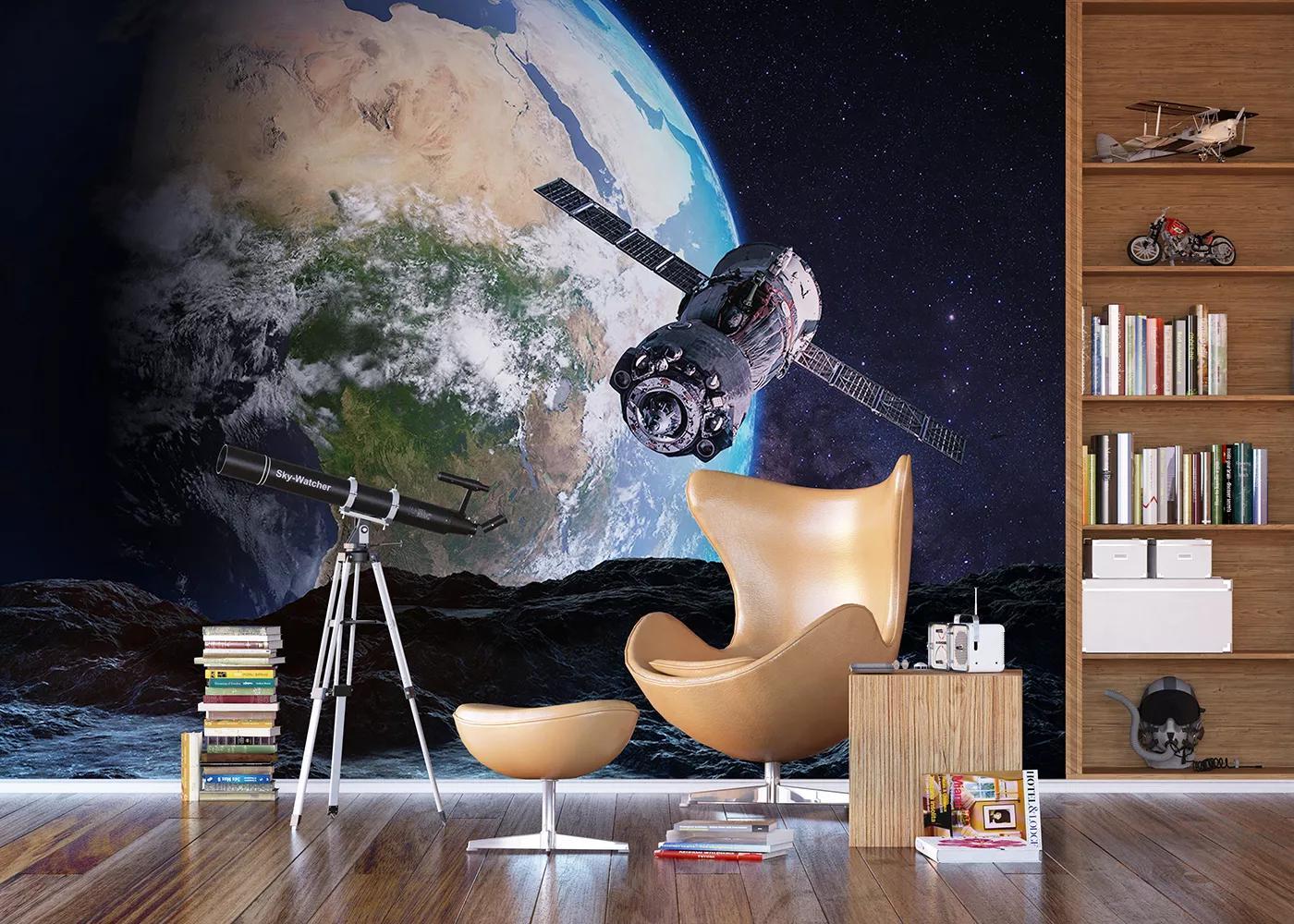 Óriás fali poszter látkép a Földre