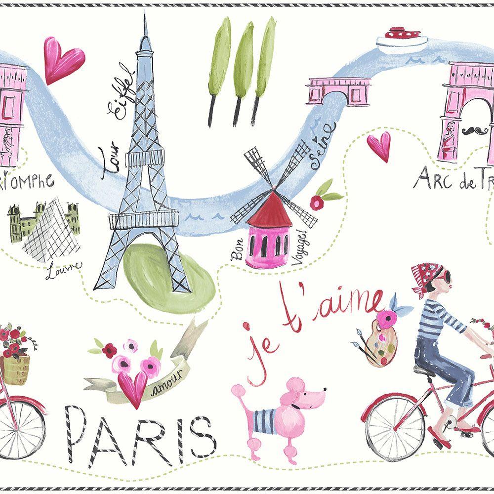 Párizs love vidám lányos gyerek bordűr
