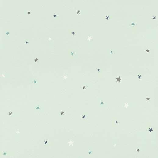 Pasztel kék csillag mintás gyerek tapéta
