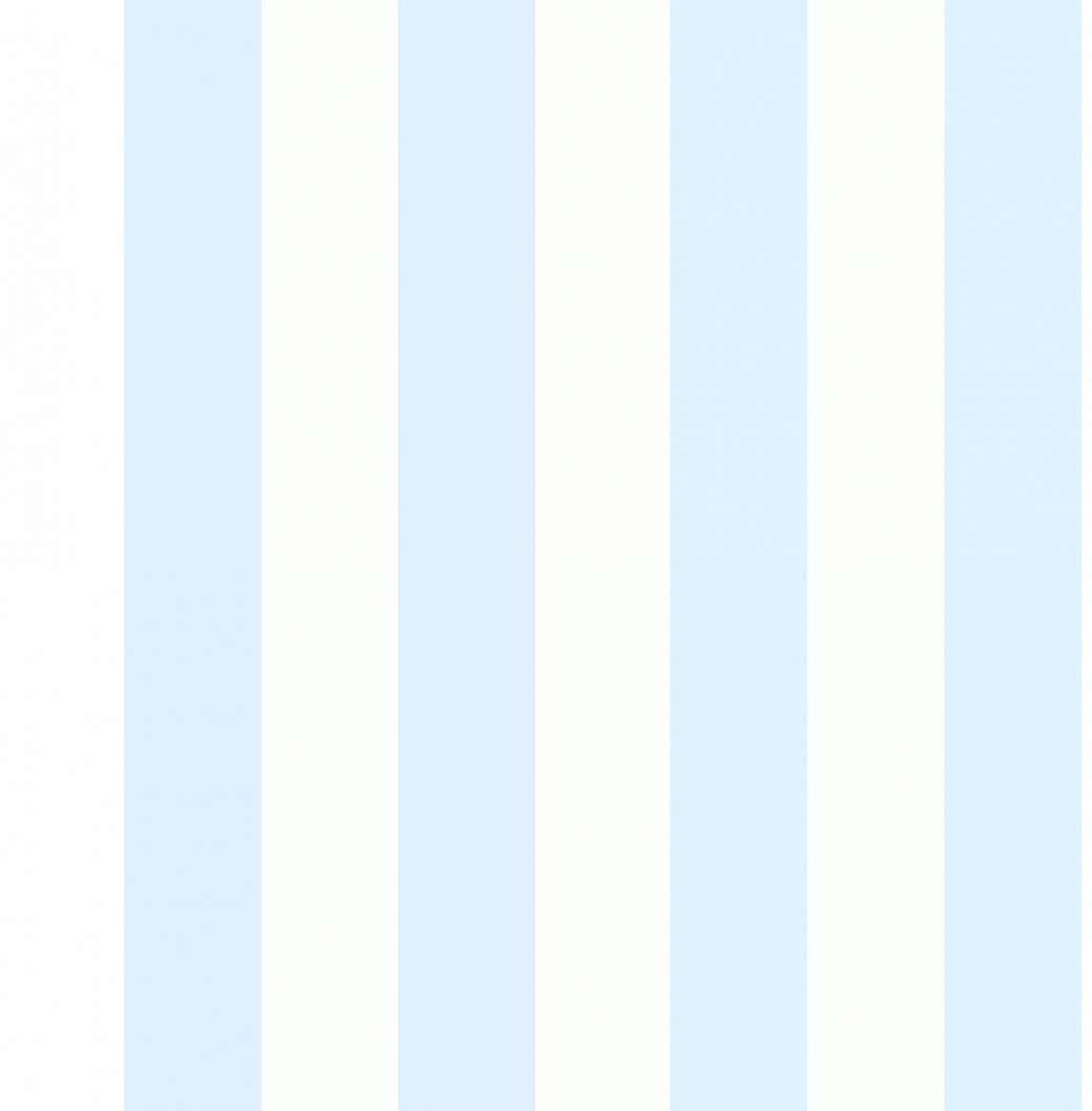 Pasztell kék csíkos mintás tapéta gyerekszobába