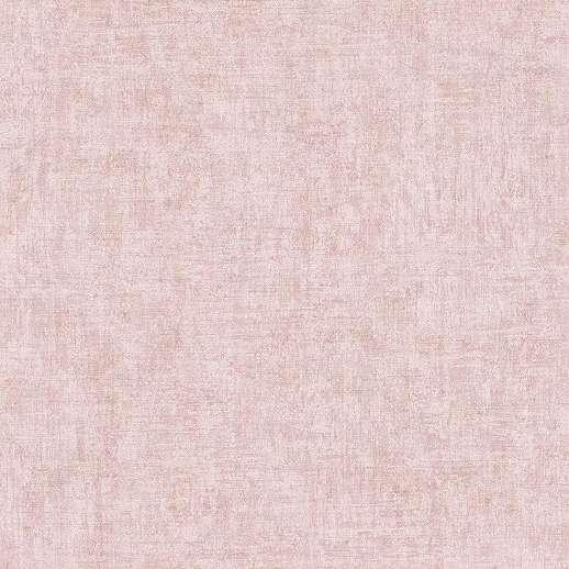 Pasztell rózsaszín finoman struktúrált egyszínű vlies vinyl tapéta