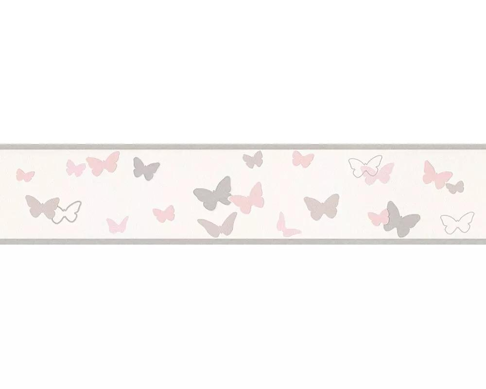 Pillangó mintás bordűr gyerekszobába