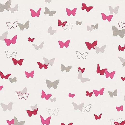 Pillangó mintás vlies gyerek tapéta