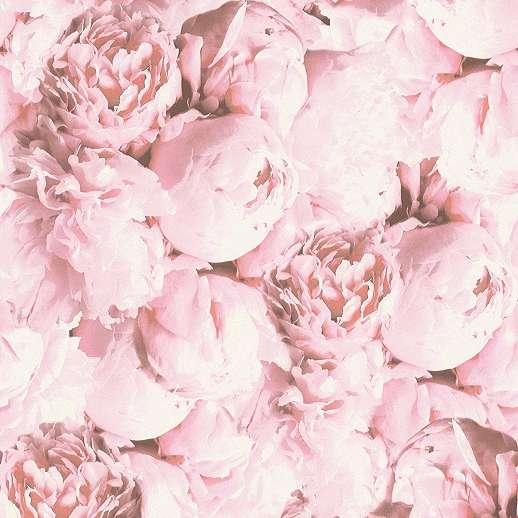 Pink design tapéta rózsa mintával mosható vinyl felülettel