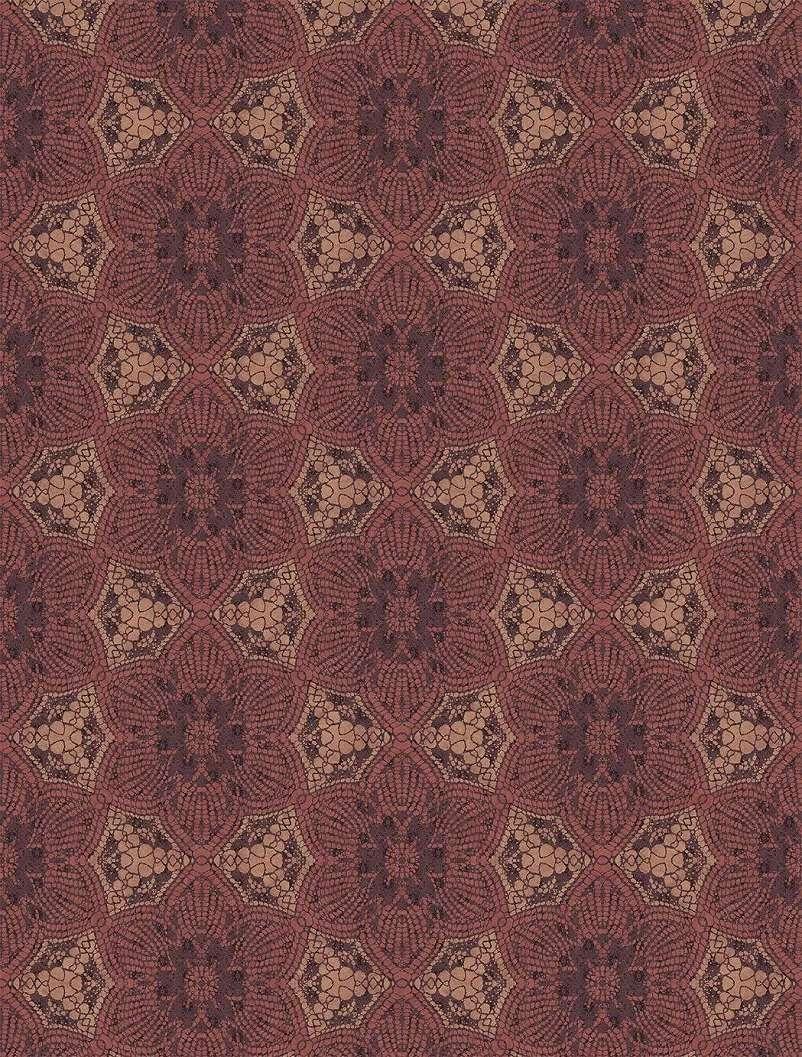 Piros afrikai stílusú luxus fali poszter