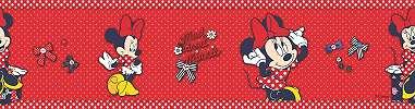 Piros Minnie egeres bordűr